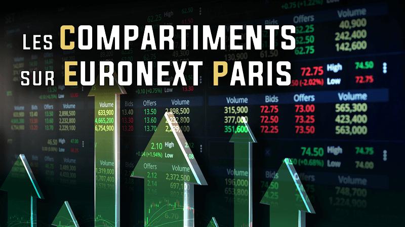 Les compartiments sur Euronext Paris