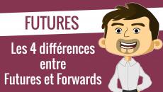 Les 4 différences entres Futures et Forwards