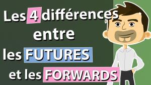Les quatre différences entres les Futures et les Forwards