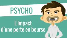 L'impact psychologique d'une perte en bourse