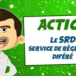 Le SRD sur un compte-titre (service de règlement différé)