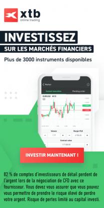 Ouvrir un compte de trading avec XTB