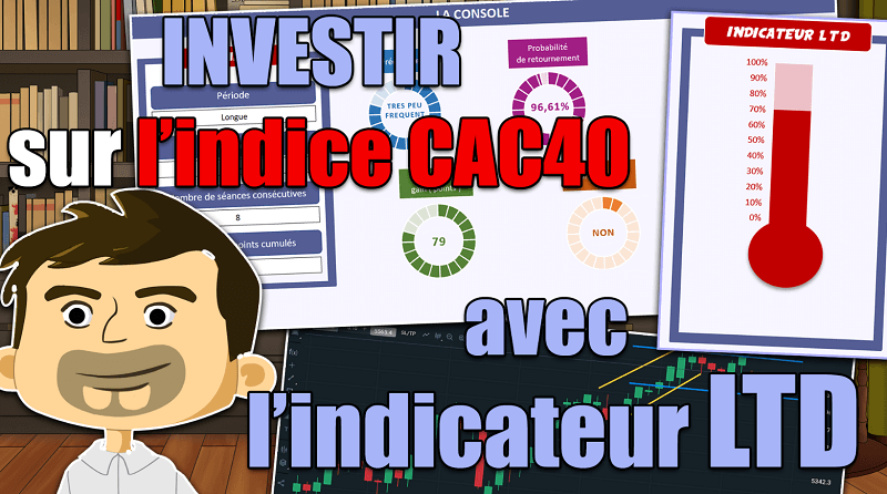 Investir sur l'indice CAC40 avec l'indicateur LTD