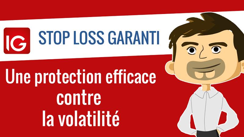 Stop loss garanti une protection efficace contre la volatilité