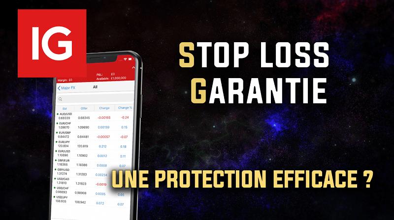 Stop loss garanti une protection efficace
