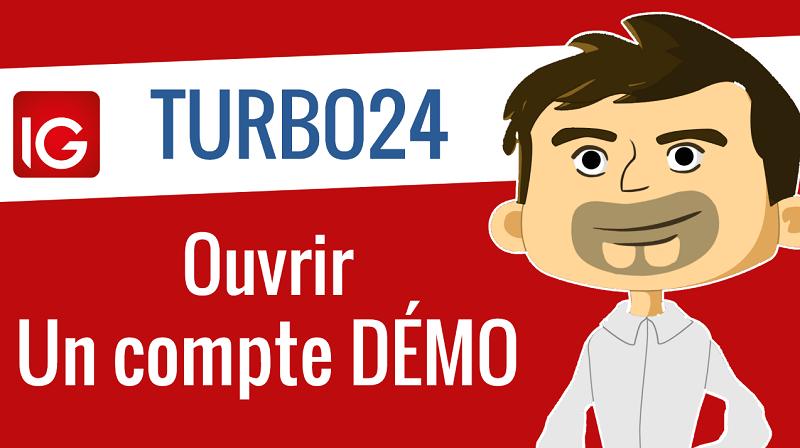 Ouvrir un compte démo pour trader les turbo24