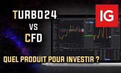Turbo24 vs CFD, quel produit choisir pour investir