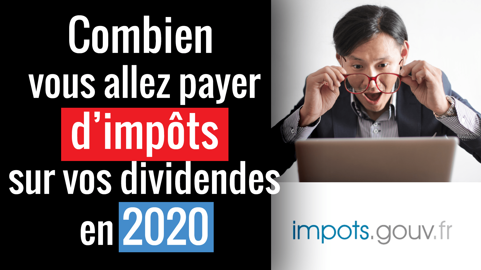 Imposition des dividendes en 2020