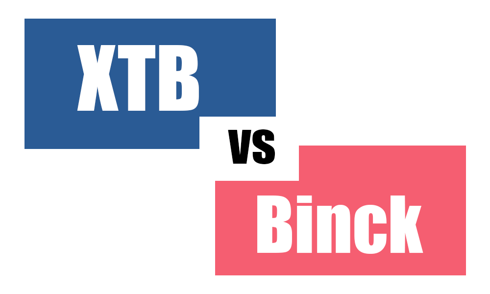 XTB vs Binck
