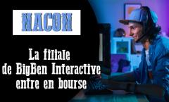 NACON fait ses premiers pas à la bourse de Paris
