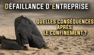 Confinement et défaillances d'entreprises