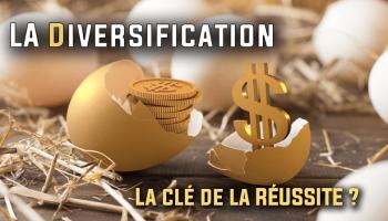 La diversification en bourse pour limiter les risques