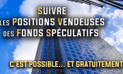 Suivre les positions vendeuses des fonds spéculatifs