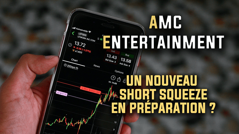AMC Entertainment un nouveau short squeeze en préparation