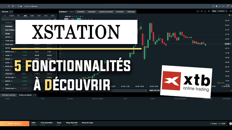 Xstation 5 fonctionnalités à découvrir