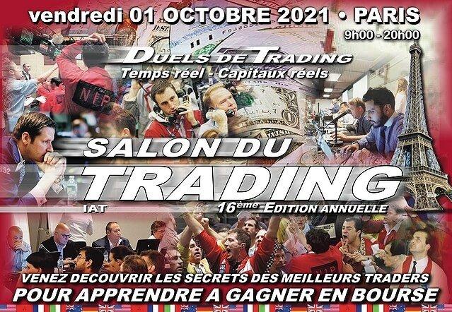 Salon du trading le 1er octobre 2021