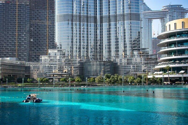 Vue aérienne de Dubaï