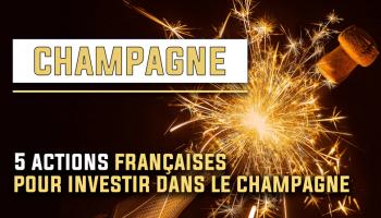 5 actions françaises pour investir dans le Champagne